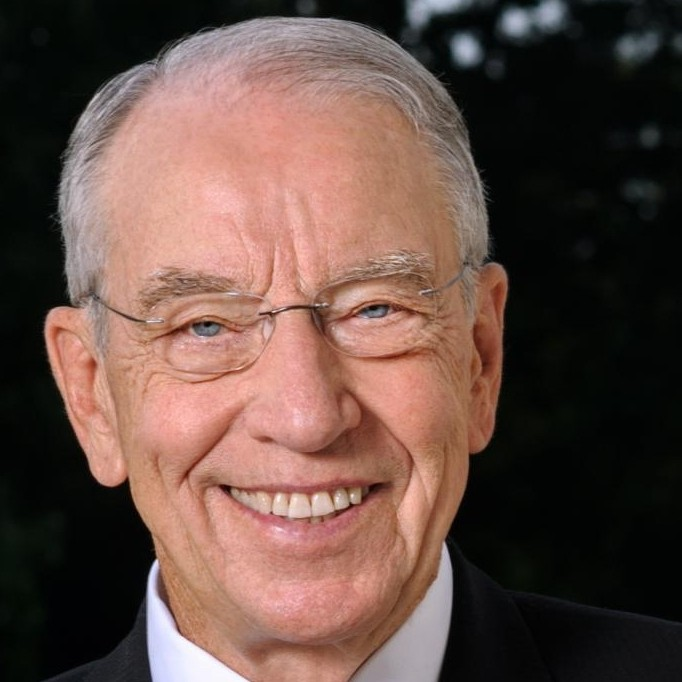 Senate Finance Committee Chairman Chuck Grassley, (R-Iowa)